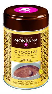 Chocolat Monbana parfumé Vanille