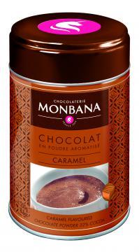 Chocolat Monbana parfumé Caramel