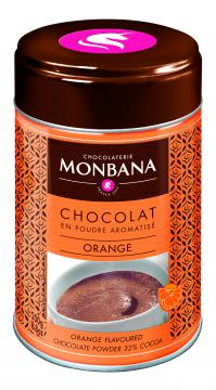 Chocolat Monbana parfumé Orange